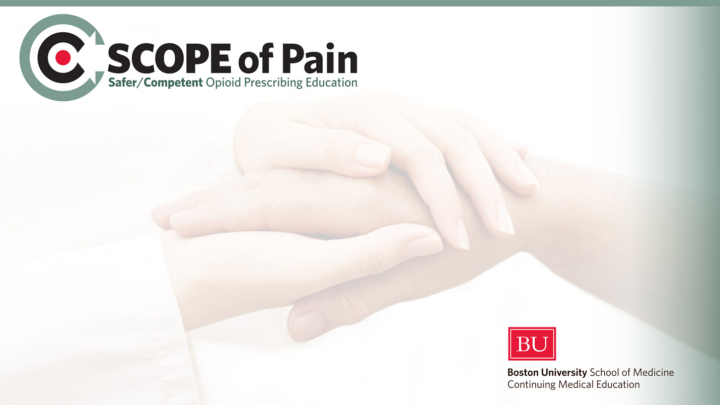 SCOPE of Pain (Core curriculum) – Live conferences