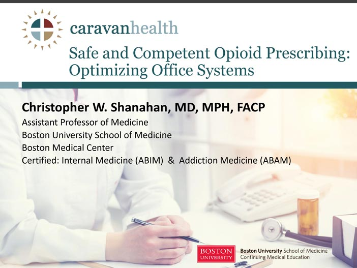 Safe and Competent Opioid Prescribing: Optimizing Office Systems